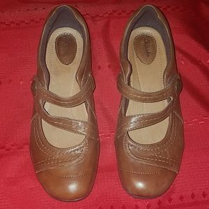 Clarks Artisan Leather Loafers